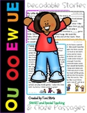 OU UE EW and OO Second Grade Decodable Stories Level 2 Uni