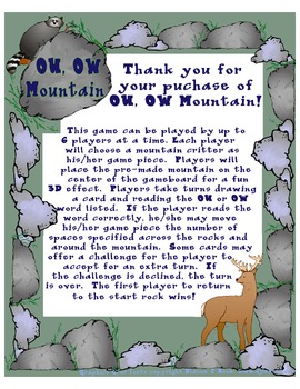 OU, OW Mountain