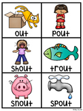 OU OW Pocket Chart Centers and Materials