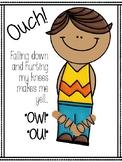 OU OW Vowel Dipthongs Anchor Chart