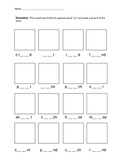 OU Phonics Worksheet