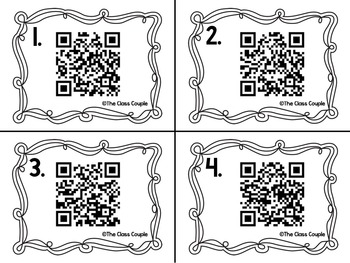 OU and OW QR Code Task Cards