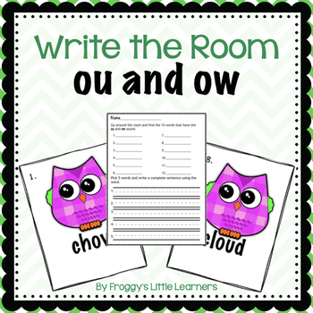 OU and OW Write the Room.