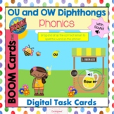 OU and OW Diphthongs with Sound Boom Cards!