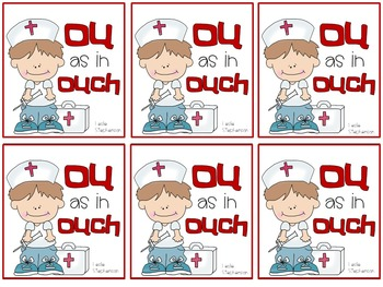OU as in Ouch - A Mini-Book for the OU Vowel Digraph