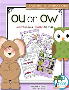 OU or OW? Digraph Activities That Teach the Difference by Pauline Pretz