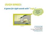 """""""OUGH""""  SIGHT WORD BINGO"""