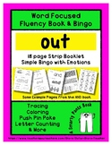 OUT - Word Fluency Book & Emotion Bingo - Sight Word Focus
