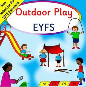 OUTDOOR PLAY bumper resource pack -EYFS