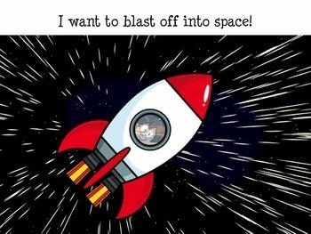 OUTER SPACE ASTRONAUT Speech Language