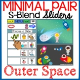 OUTER SPACE: Minimal Pair Sliders Deck - BOOM Cards S-Blen