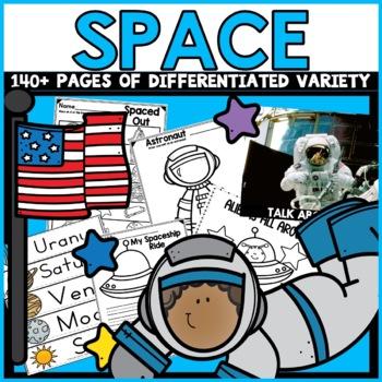 Planets Kindergarten Space Solar System Activites