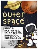 OUTER SPACE and PLANETS MEGA BUNDLE (Advanced, ESOL, SPED, Spanish) 238 PGS!