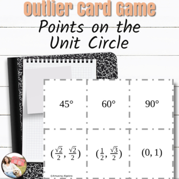 OUTLIER! Points on the Unit Circle Card Game