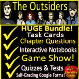 The Outsiders NOVEL STUDY Unit Bundle Printable AND Digita