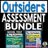 OUTSIDERS Assessment Bundle - CC Whole Novel Test  & Short Constructed Response