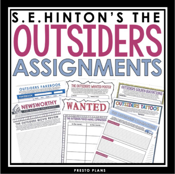 OUTSIDERS ASSIGNMENTS