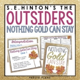 OUTSIDERS NOTHING GOLD CAN STAY