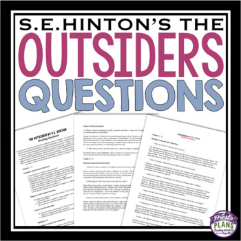 OUTSIDERS QUESTIONS
