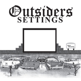 THE OUTSIDERS Setting Graphic Organizer - Physical & Emotional (by S.E. Hinton)