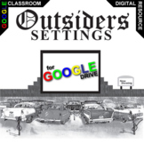 THE OUTSIDERS Setting Organizer Physical Emotional (Created for Digital)