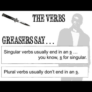 THE OUTSIDERS Subjects and Verbs - Grammar Agreement Package