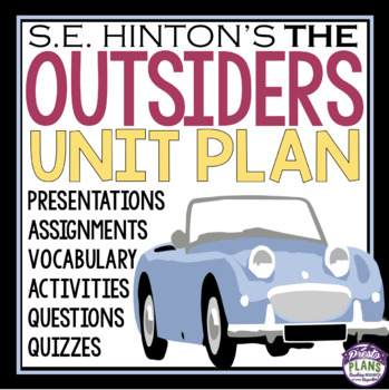 The outsiders teaching resources teachers pay teachers the outsiders unit the outsiders unit fandeluxe Images