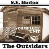 THE OUTSIDERS Unit Plan - Novel Study Bundle (S.E. Hinton)