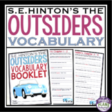 OUTSIDERS VOCABULARY