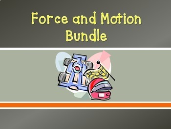 (OVER 30% OFF) Bundle: Force and Motion