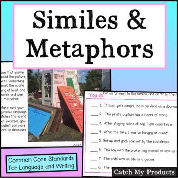 Similes and Metaphors in Power Point