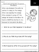 OW Fluency & Comprehension Questions
