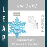 OW - Long O - No Prep Phonics