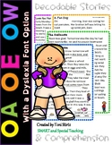 OW, OA & OE Long O Second Grade Decodable Stories Level 2