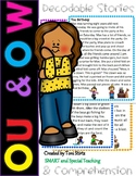 OW & OU  Second Grade Decodable Stories Level 2 Unit 14 In