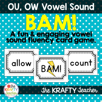 Vowel Sounds Practice Game, OW, OU