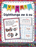 OU & OW Vowel Diphthongs