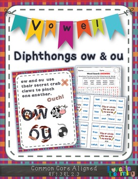 OU & OW Vowel Diphthongs
