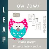 OW - OW Diphthong - No Prep Phonics