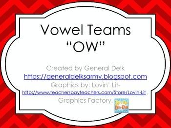 """OW"" Vowel Team"