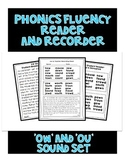 OW and OU Sound - Phonics Fluency Assessments
