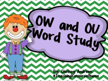 OW and OU Word Study Pack