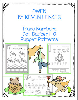 OWEN NUMBERS BOOK ADD ON