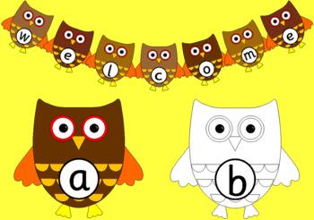 OWL ALPHABET LINE