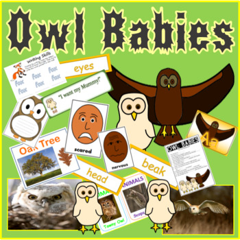 OWL BABIES STORY TEACHING RESOURCES, LITERACY, READING, EYFS, KS 1-2 ANIMALS