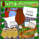 OWL BABIES book study PLUS Nocturnal Animals and Emotions
