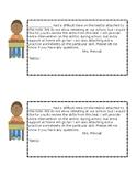 Failed Test Parent Note