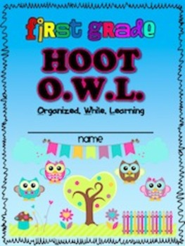 OWLS {Binder Covers}