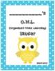 O.W.L. Binder Covers (Blue Border)