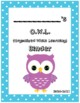 O.W.L. Binder Covers (Blue Border)